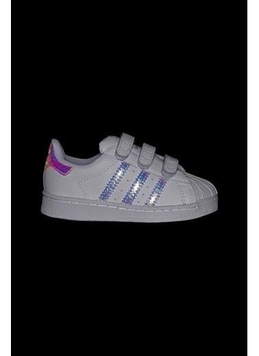 adidas Adidas Bebek Günlük Spor Ayakkabı Superstar Cf I Fv3657 Renkli